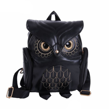 Cute Owl Fashion Backpacks Cartoon Women Backpack Softback School Bags Teenage Backpacks for Girls#Z cute clear transparent women backpacks pvc jelly color student schoolbags fashion ita teenage girls bags for school backpack new