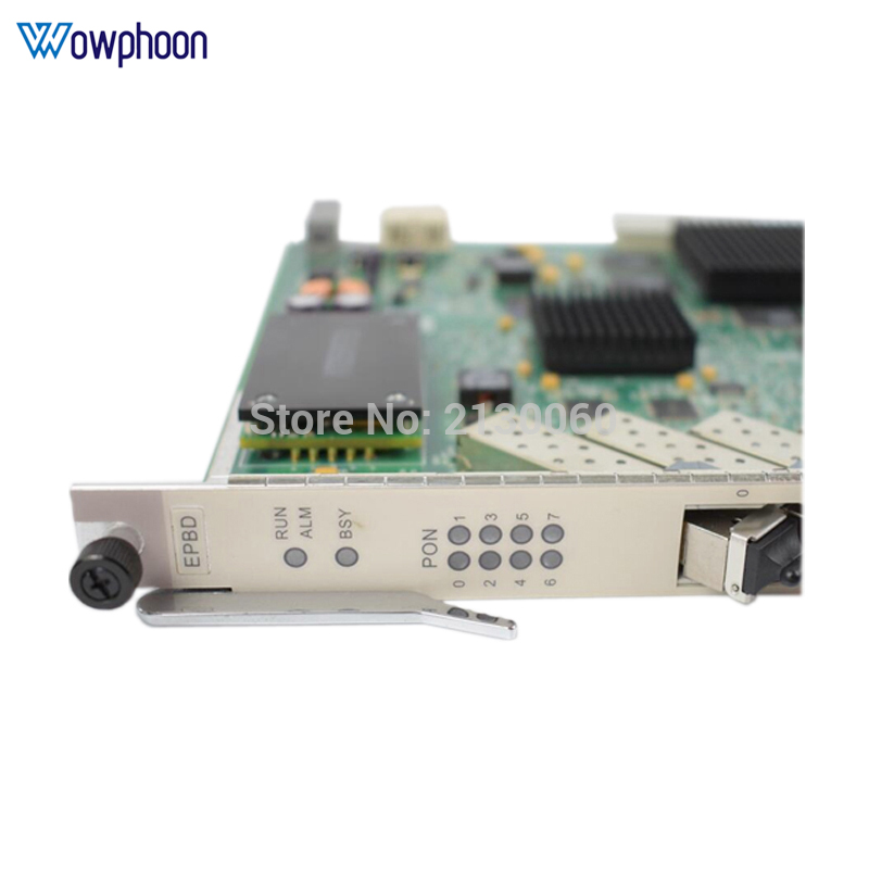 Top brand HUAWEI OLT EPBD 8 ports PX20+ EPON control board for MA5680t MA5683T <font><b>MA5608T</b></font> with 8 SFP modules PX20+ image