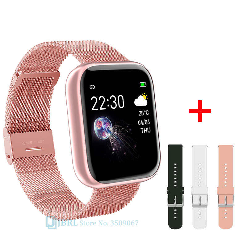 Fashion HD smart watch children waterproof bluetooth smartwatch girls baby watches kids Bracelet heart rate monitor smart band