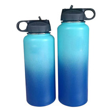 320z/40oz kolba Hydro Flask podwójna ściana izolowana próżniowo butelka wody ze stali nierdzewnej kubek samochodowy termos dostępne również inne ogniwa