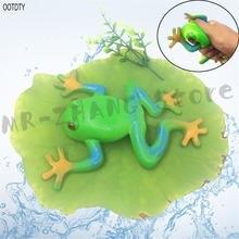 Ootdty большая зеленая лягушка Антистресс мяч играть шутка кляп
