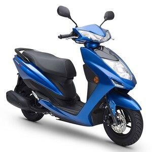 Image 5 - 8mm 10mm elektryczne lusterka wsteczne motocyklowe, dla YAMAHA JOG GT125, lusterka wsteczne z tyłu, części i akcesoria