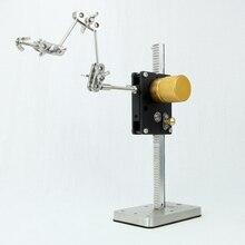Sistema de plataforma de bobinado lineal de WR 200 de alta calidad para vídeo de animación de parada de movimiento, envío gratuito por DHL