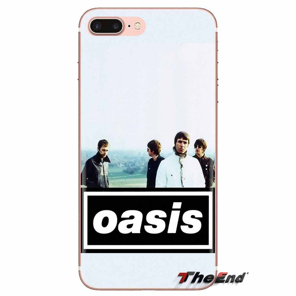 Oasis rock Band Transparent Soft Shell Covers For Xiaomi Redmi 4A S2 Note 3 3S 4 4X 5 Plus 6 7 6A Pro Pocophone F1