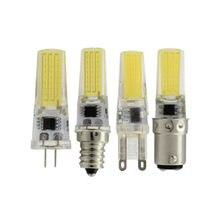 G4 COB LEVOU 2508 220V G9 E11 E14 E12 110V 220V Geladeira lâmpada E17 BA15S LED G6.35 BA15D G4 COB LEVOU lâmpada máquina de Costura