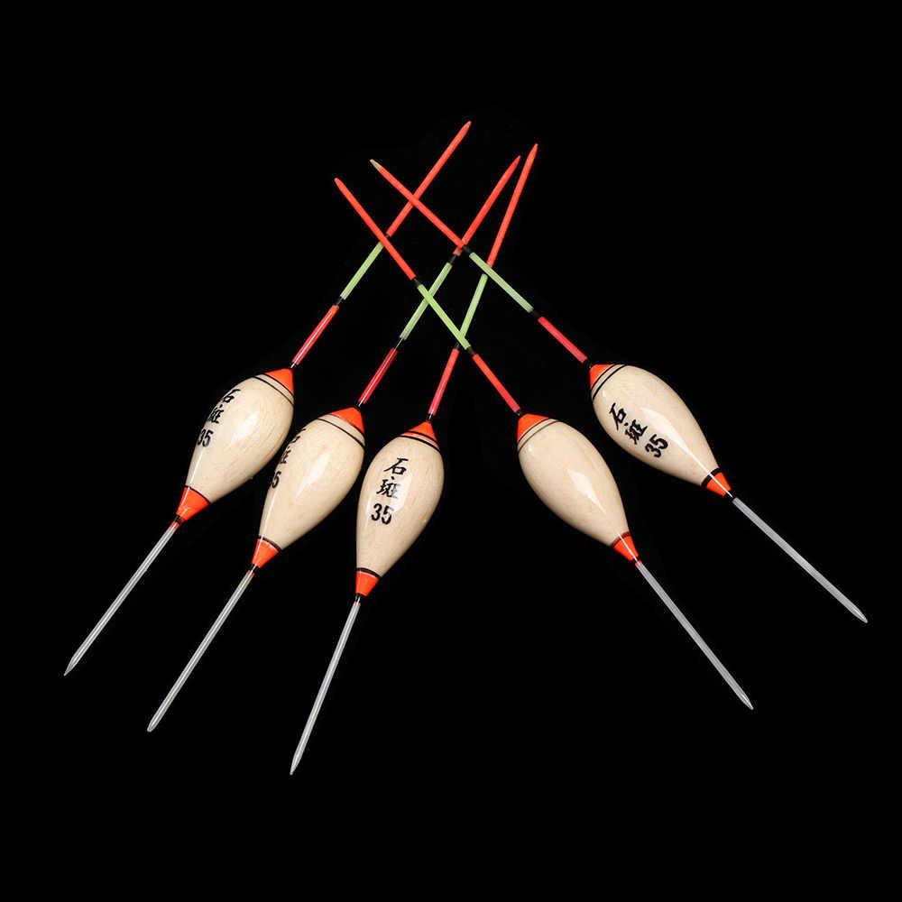 5 قطعة المحمولة الصيد يطفو البلسا Flotteur Peche الضحلة العائمة نماذج اكسسوارات رائعة عالية الجودة