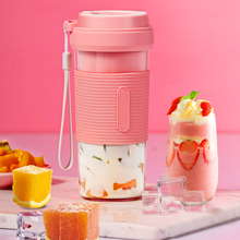 Portable fruit Juicer Blender Travel Personal USB Mixer Juice Cup with safe protection 300ML portable usb electric juicer
