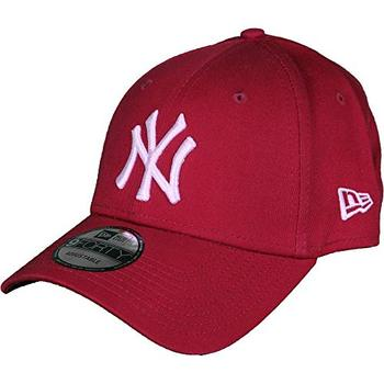 New Era Gorra de béisbol 9FORTY League Essential York Yankees rojo baseball cap, hat, summer, hip hop, trucker, caps for men