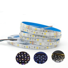 5 M 5050 LED Strip RGB + CCT RGB + CW + WW 2 In 1 Chip Warna Suhu Dapat Disesuaikan pita LED IP20 / IP65 /IP67 Tahan Air 12V 24V(China)