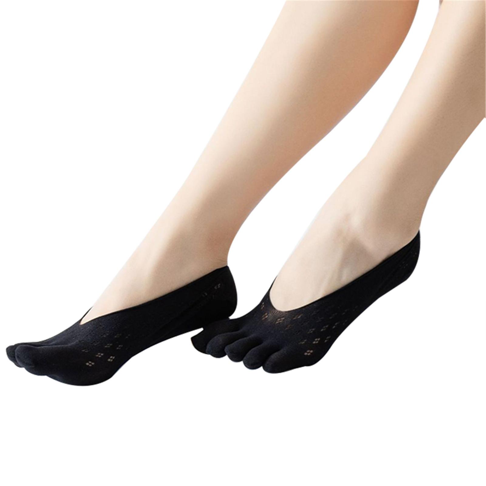 Orthopedic Compression Socks Women's Toe Socks Ultra Low Cut Liner with Gel Tab Breathable YS BUY
