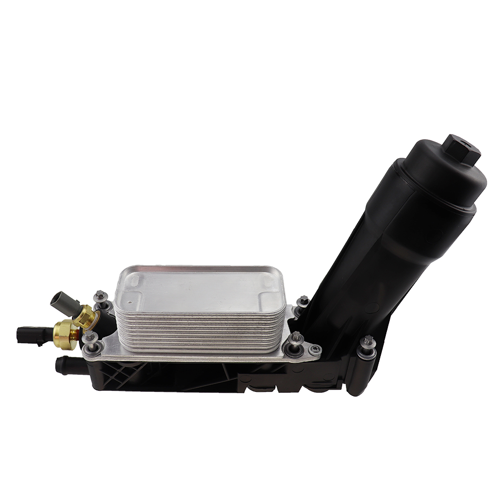 <font><b>5184294AE</b></font> Engine Oil Cooler Filter Assembly Fit For 2011-1203 Jeep Dodge Chrysler 3.6 V6 68105583AE 5184294AC 5184294AD image