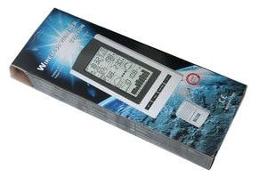 Image 5 - محطة الطقس اللاسلكية ، ترمومتر لاسلكي مع درجة الحرارة في الهواء الطلق والرطوبة الاستشعار شاشة الكريستال السائل ، مقياس الضغط