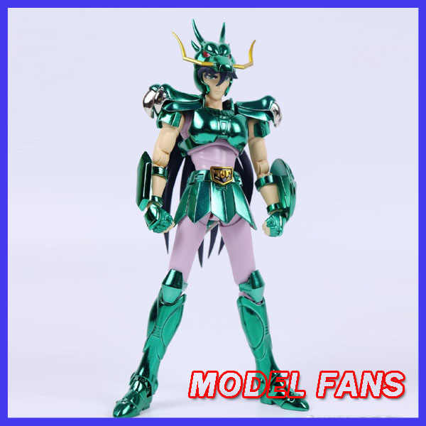 I Fan di Modello in-Stock Greattoys Grandi Giocattoli Gt Ex Bronzo Saint Seiya di Dragon Shiryu V1 Elmo di Metallo Armatura Mito panno Action Figure
