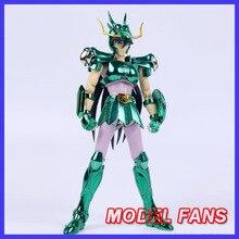 Fãs modelo em estoque grandes brinquedos gt ex bronze saint seiya dragão shiryu v1 capacete armadura de metal mito pano figura de ação