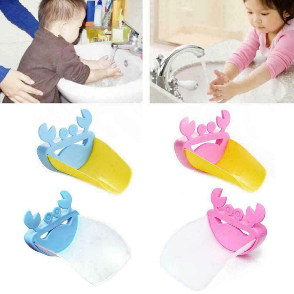 Permalink to Bathroom Faucet Extender Cartoon Baby hand-washing device Children's Guide sink Faucet extension Bathroom Accessories MK