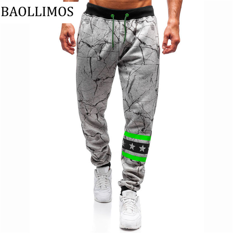 New Men Multi-pocket Pants Elastic Waist Sweatpants Trousers Male Hip Hop Men's Casual Solid Streetwear Joggers Pants