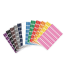 720 colorful oval stickers stickers can write category stickers, 60 labels each