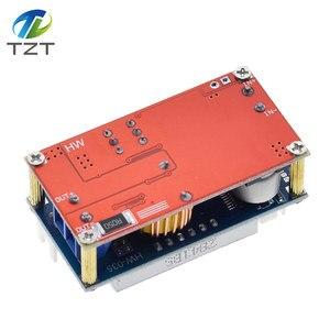 Image 5 - TZT XL4015 5A قابل للتعديل الطاقة CC/CV تنحى تهمة وحدة LED سائق الفولتميتر مقياس التيار الكهربائي ثابت الجهد المستمر