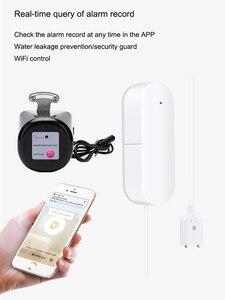 Image 3 - Tuya Alexa Google ev IFTTT akıllı kablosuz kontrol gaz su vanası akıllı yaşam WiFi sensörü bağlantı kapalı denetleyici