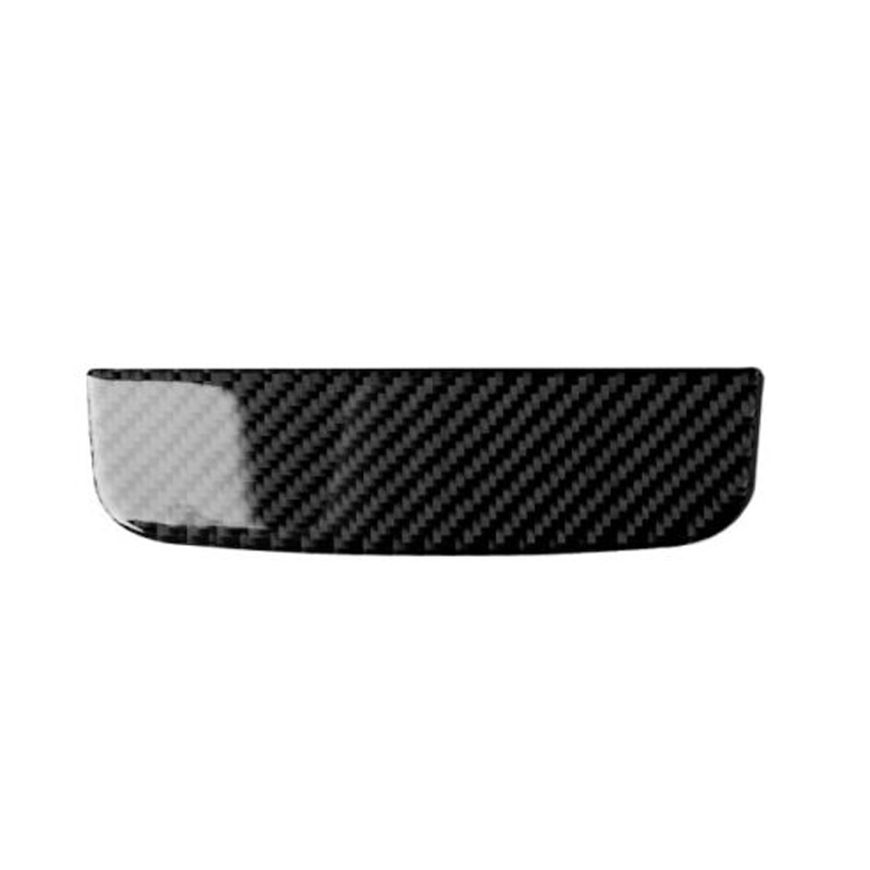 Carbon Fiber Center Console Storage Box Decor Trim Cover For Ford <font><b>Mustang</b></font> <font><b>2015</b></font> <font><b>2019</b></font> Interior Mouldings image
