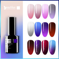 Beautilux 1pc Thermische Stimmung Temperatur Farbwechsel Gel Nagellack Tränken Weg Vom UV LED Nägel Gel-Lack Lack 10ml