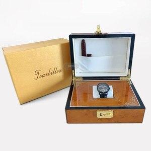 Image 5 - Original Seagull Tourbillonนาฬิกาผู้ชายSapphire Starry Sky Dial KOPECK Tourbillon MensนาฬิกาOrologio Uomo
