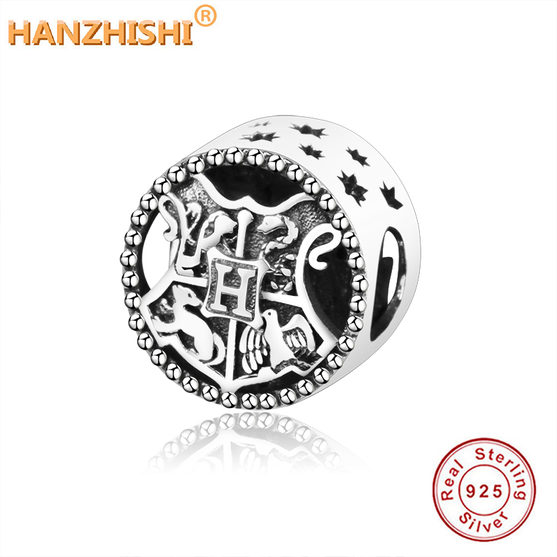 100% 925 Sterling Silver Bead Ron Weasley School of Witchcraft and Wizardry Charm Fit Original Pandora Charm Bracelet Jewelry(China)