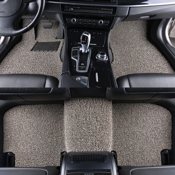 Custom car floor mat for Landrover Evoque RANGE ROVER Velar Discovery 3/4/5 Freelander 2 Discovery Sport