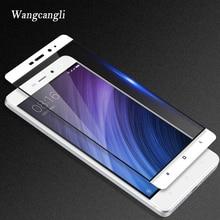 Full Cover Tempered Glass 0.26mm 9H For Xiaomi redmi 4X Screen Protector glass for xiaomi redmi Note 4X glass protector for xiaomi redmi note 4x tempered glass screen film