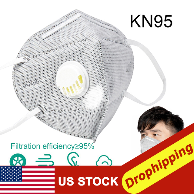 50pc K95 Mask Antiflu Flu Anti Infection KN95 Masks Particulate Respirator PM2.5 Protective N95 Safety Mask Instock