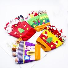DIY Christmas New Year Gift  Glove Puppet Thumb Doll Cartoon Animal Story Telling Parent-Child Interaction Finger Toys