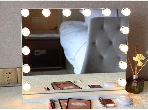espelho de vaidade frameless varejo com luz