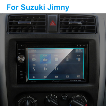Car GPS Navigation Screen Protector for Suzuki Jimny Auto Interior Tempered Glass Touch Screen Protective Film Car Accessories image