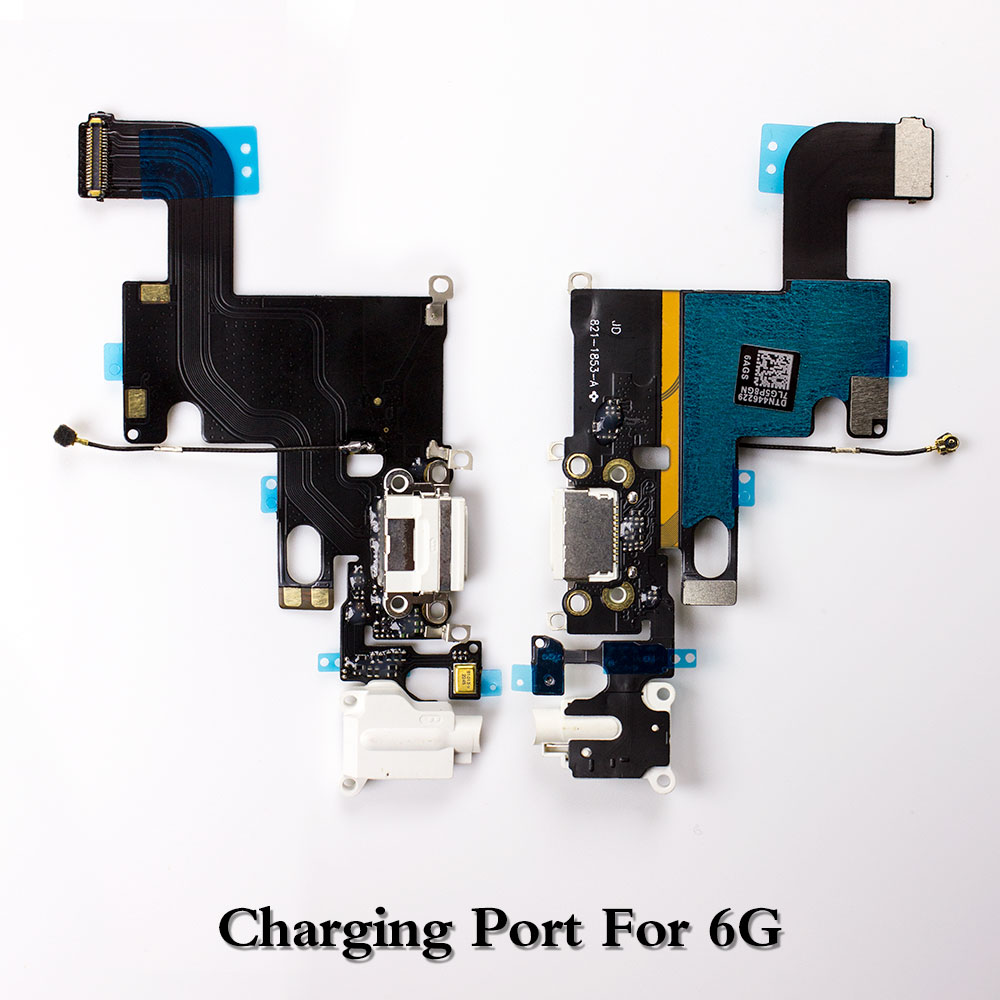1pcs Mobile Phone Charger Flex Cables USB Dock Connector Replacement For IPhone 5 5c 5s 6 6 Plus 6s 6s Plus 7 7 Plus 8 8 Plus XS