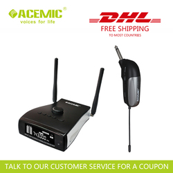 ACEMIC  PR-8/GT-1 Professional stage antenna diversity wireless guitar bass transmitter system