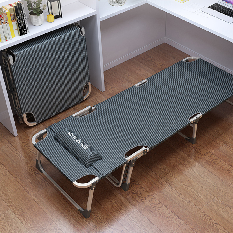Multifunctional Nap Bed Folding Bed Single Office Lunch Break Recliner Home Escort Portable Camp Bed
