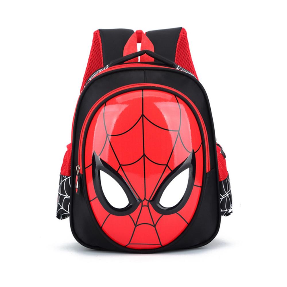 MARVEL SPIDERMAN Backpacks Super heroes New School Bag 3D stereo Children Boys Kindergarten Backpack Kids Children Cartoon Bags
