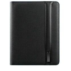 A4 Business Manager Taschen Reist Zusammensetzung Buch Multifunktions Datei Ordner mit Wireless-ladegerät Handy Halter