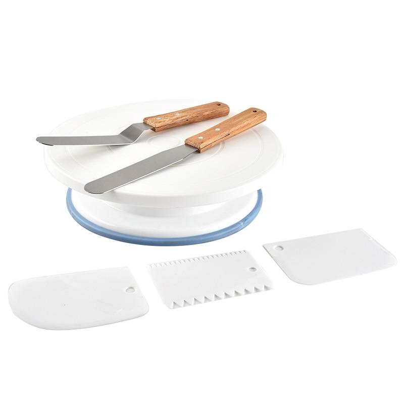 Base Giratoria Para Pastel Dessert Table Decoration Tort Dekoracje Accesorios De Reposteria Ozdoby Na Torty Bakery Tools Kichen