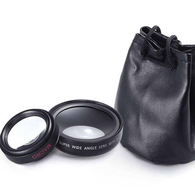 2in1 Macro Professional HD Phone Camera Lens For iPhone 8 7 6S Plus Xiaomi Samsung LG 1