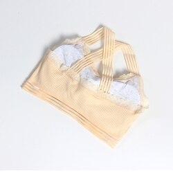 Новый комплект с бюстгальтером; хлопковый спортивный бюстгальтер для девочек; комплекты нижнего белья для подростков; нижнее белье для дев... 2