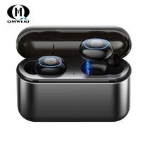 New A2 TWS Earphone Waterproof Bluetooth 5.0 Headset Mini Wireless earphone In-Ear Sport Stereo Earphones Earbud