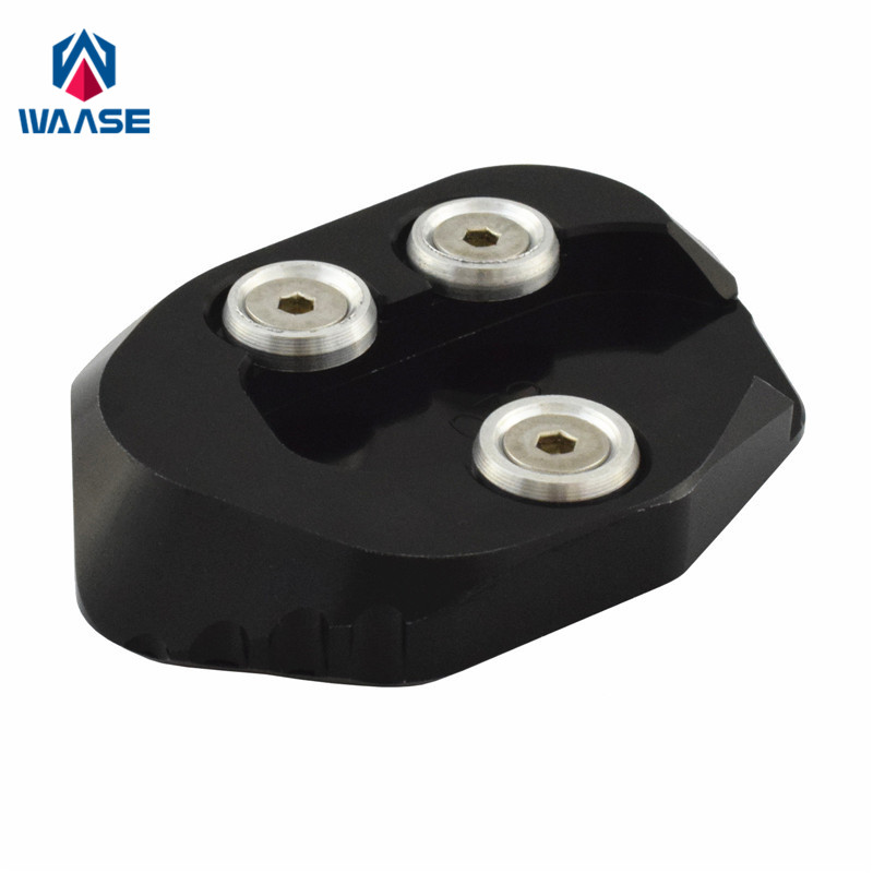 waase For Honda <font><b>CB1000R</b></font> <font><b>2018</b></font> 2019 2020 Kickstand Foot Side Stand Extension Pad Support Plate image