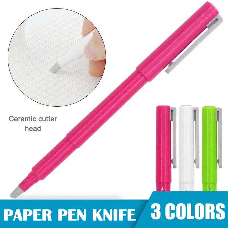Paper Pen Cutter Ceramic Mini Paper Cutter Ceramic Tip No Rust Durable OCT998