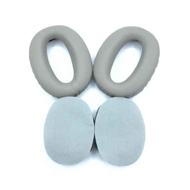 Soft Protein Leather Earpads Replacement Ear Pads Ear Cushion For <font><b>SONY</b></font> <font><b>MDR</b></font>-<font><b>1000X</b></font> <font><b>MDR</b></font> <font><b>1000X</b></font> WH-1000XM2 <font><b>Headphones</b></font> 634A image