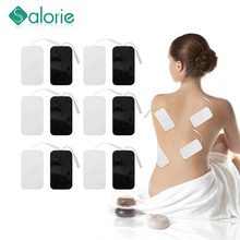 20/10PCS Self Adhesive Replacement Tens Electrode Pads Square Muscle Stimulator Electric Digital Machine Massager Sticker