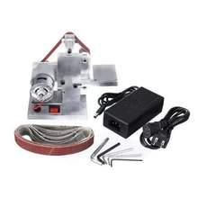 30 Small DIY Polishing Machine New Style DIY Polishing Grinding Cutter Edges Sharpener Multifunctional Mini Electric Belt Sander