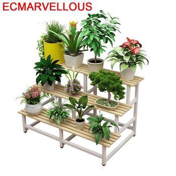 Porta Piante, estantería de madera para plantas, estantería para plantas, estantería para...