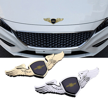 Para Chevrolet Cruze Malibu Aveo Trax Niva Lacetti Styling Acessórios Do Carro Carro de Metal Cromado Emblema Emblema Etiqueta do Logotipo Da Frente