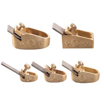 Naomi 5 sztuk zestaw hebel do obróbki drewna zakrzywione podeszwy metalowe miedziane narzędzie dla lutników dla majsterkowiczów skrzypce Viola wiolonczela drewniany Instrument tanie i dobre opinie Do skrzypiec
